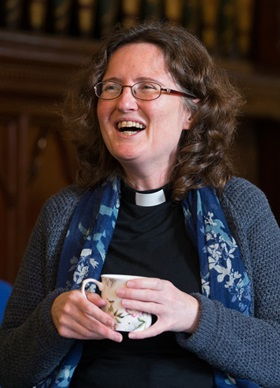 The Rev. Katy Thomas. British Methodism: Staying relevant in Wesley's homeland. Photo by Mike DuBose, UMNS.