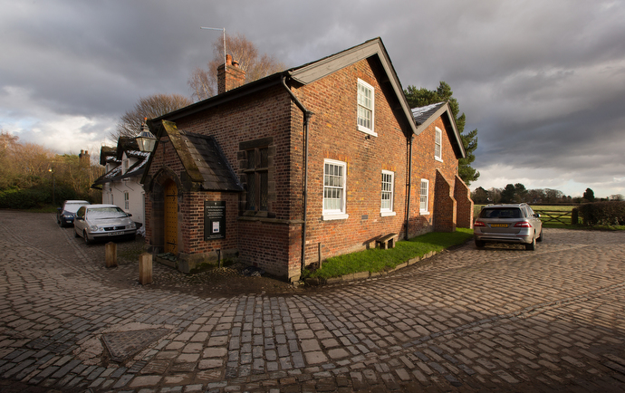 The Methodist chapel in the village of Styal was converted from a grain store in the 1830s.