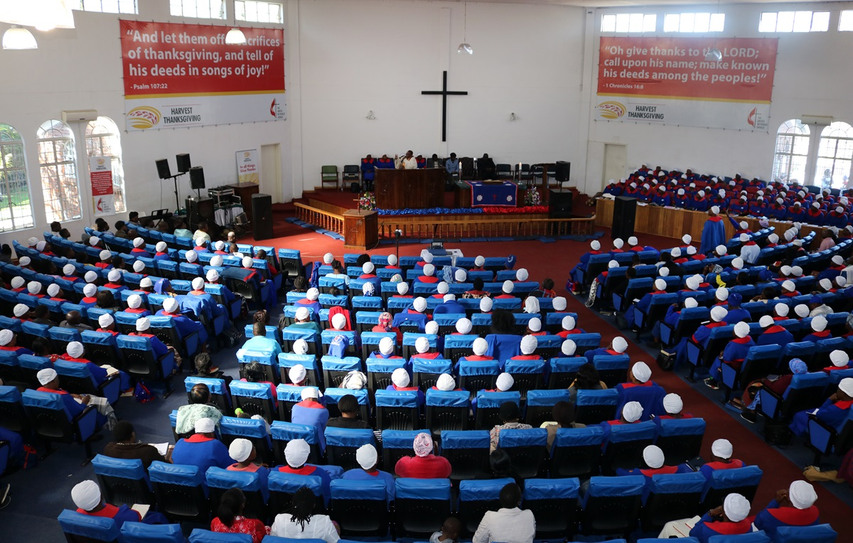 Chisipiti United Methodist Church hosts a revival attended by women in the district. Despite the social, economic and political challenges in the country the church has continued to raise funds from within membership. Photo by Priscilla Muzerengwa, UMNS.
