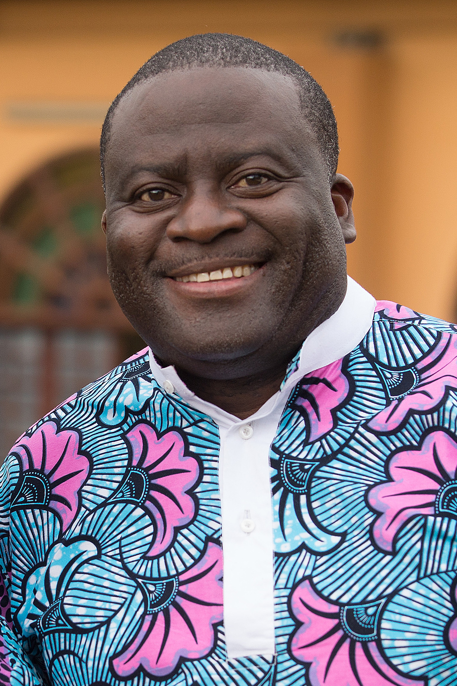 Photo of the Rev. Jean Claude Masuka Maleka by Mike DuBose, UMNS.