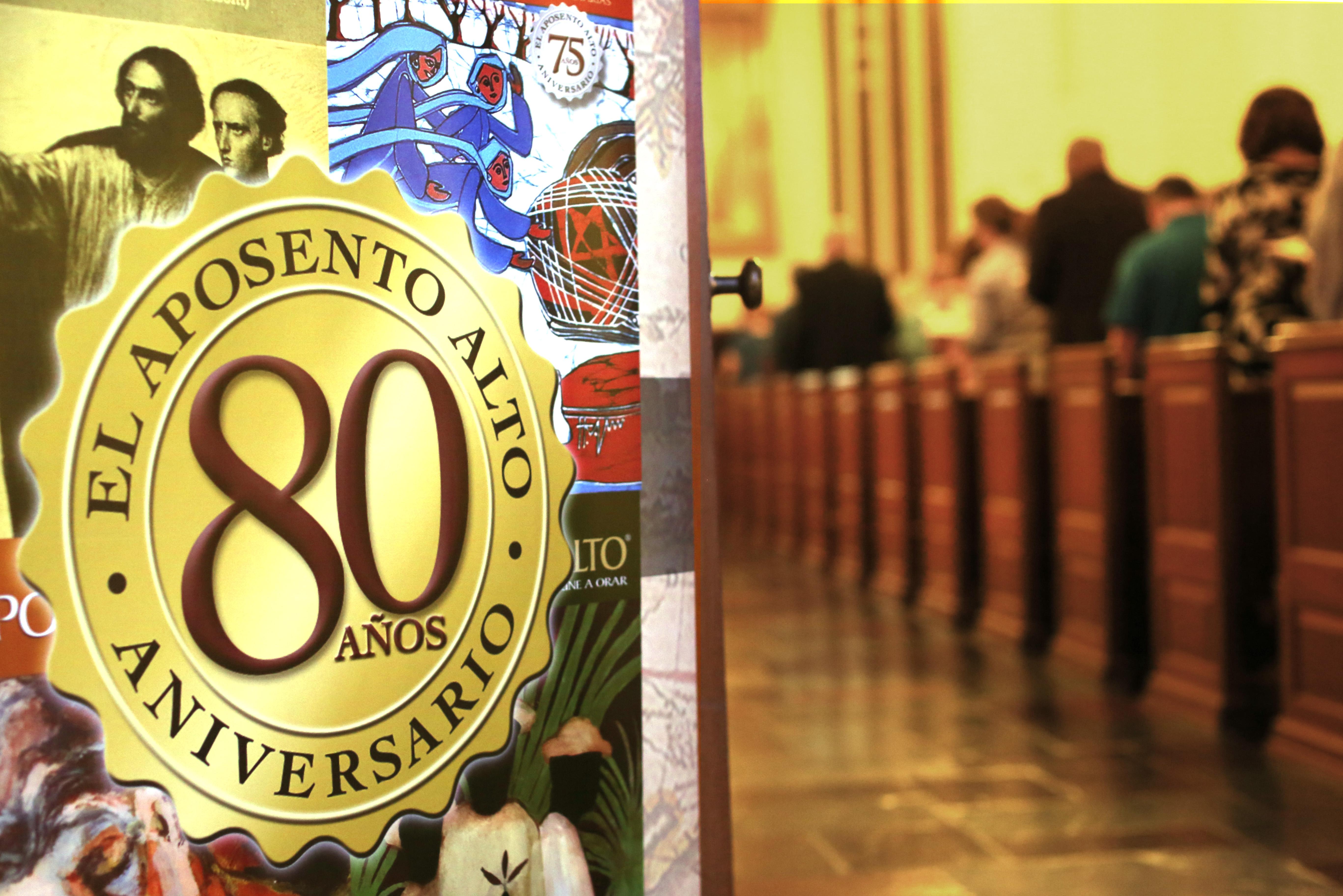 El Aposento Alto celebró en su sede de Nashville, estado de Tennessee, el octogésimo aniversario con un servicio de acción de gracias.