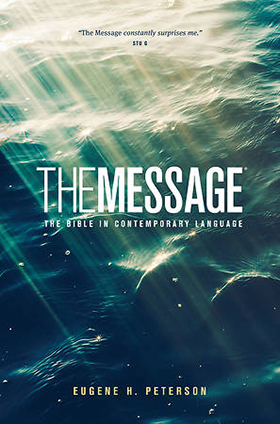 """The Message: The Bible in Contemporary Language"" artwork courtesy of Cokesbury.com."