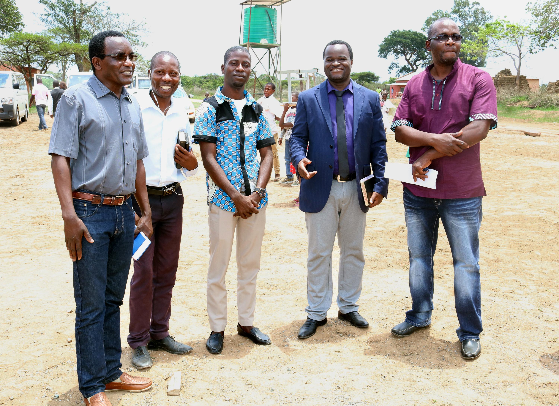 Missionarios e algunds oficiais da Conferencia do Leste de Angola.