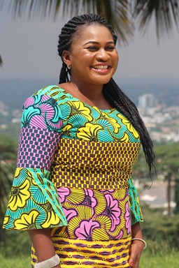 Colette Ndobe  Photo by Ndobe Ebeneza Mosima.