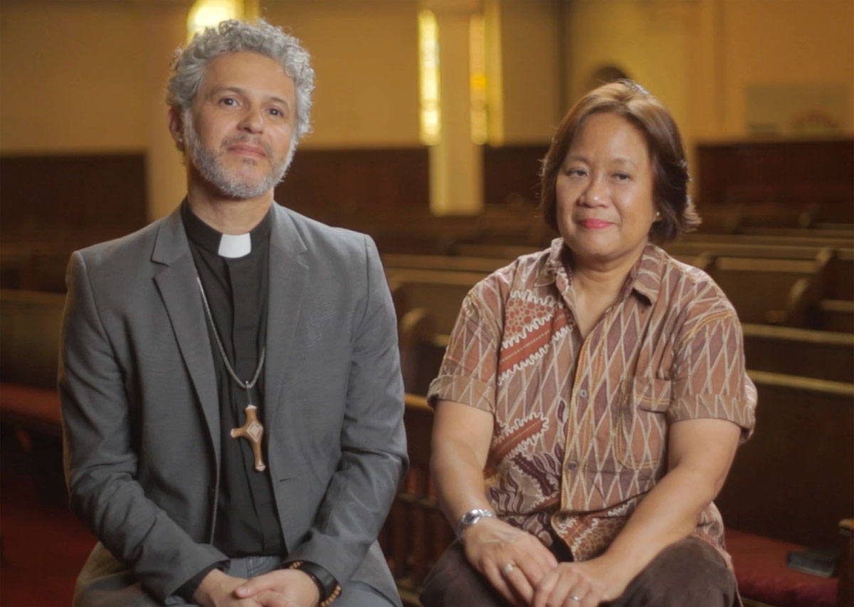 The Rev. Alex da Silva Souto is a co-author of the Simple Plan, which eliminates all restrictions in The United Methodist Church's Book of Discipline related to the practice of homosexuality, and Karen G. Prudente is a co-signer.