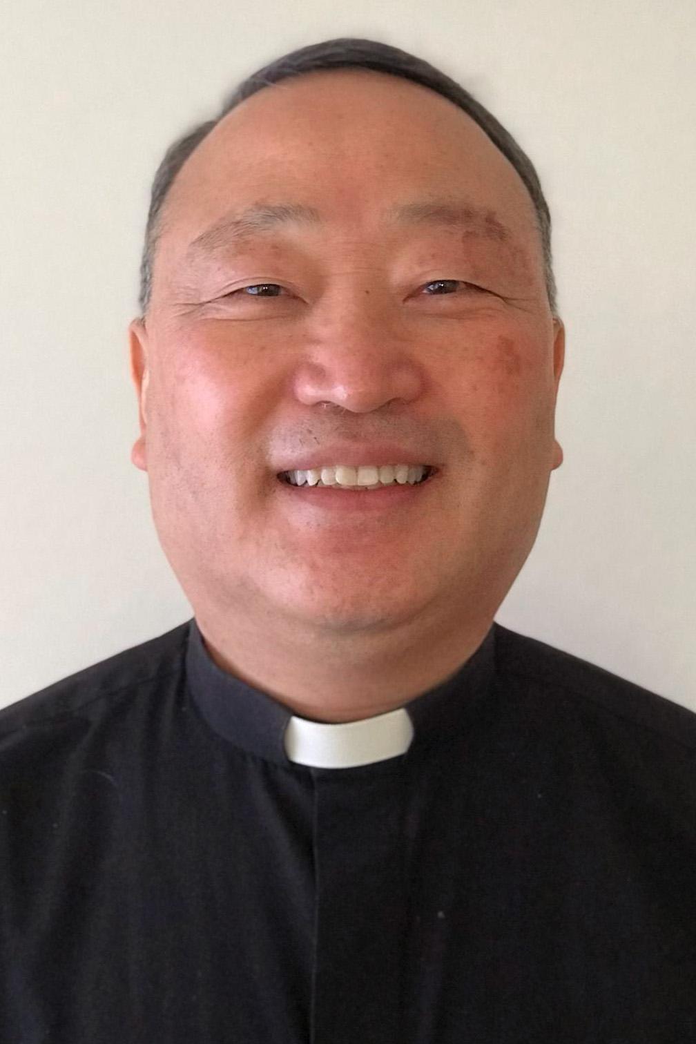 The Rev. Sungho Lee.  Photo courtesy of the Rev. Sungho Lee.