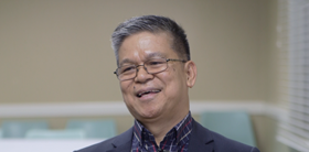 Bishop Ciriaco Q. Francisco, video image by United Methodist News Service
