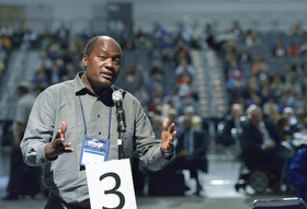 Rev. Forbes Matonga. Foto: Paul Jeffrey, SMUN.