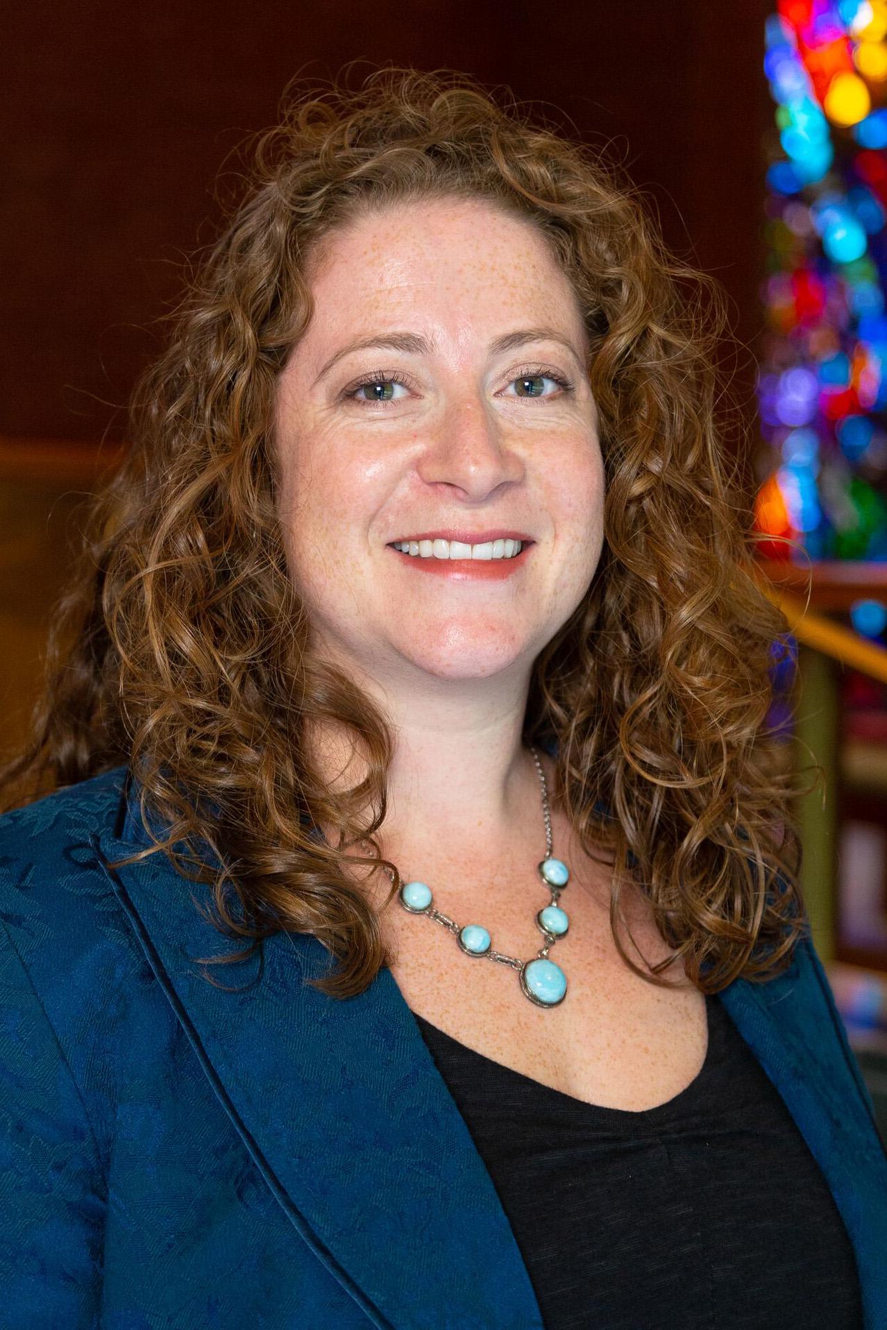 The Rev. Emily Peck-McClain.  Photo courtesy of Wesley Theological Seminary.