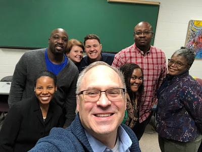 Seminaristas estudiantes del curso del Ministerio de Recuperación de Adicciones en el Seminario Teológico Wesley. Foto cortesía del Blog Metodista Unido sobre Discapacidades.
