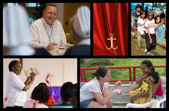 Os missionários metodistas unidos servem em mais de 65 países em todo o mundo.
