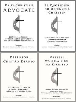 Le Daily Christian Advocate (DCA) est le journal officiel de la Conférence Générale de l'Église Méthodiste Unie.