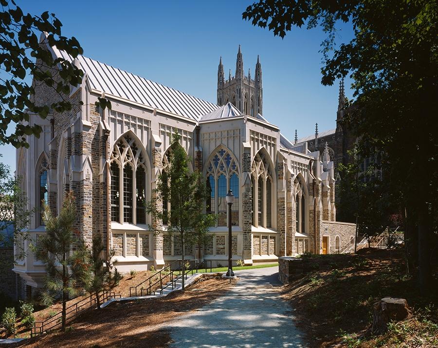 La Escuela de Divinidades de la Universidad de Duke, es uno de los seminarios pertenecientes a La Iglesia Metodista Unida. Foto cortesía de GBHEM.