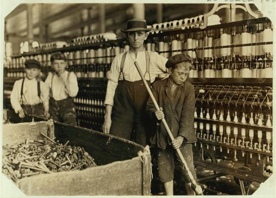 Colección del Comité Nacional de Trabajo Infantil por Lewis Wickes-Hine, cortesía de la Biblioteca del Congreso de los EE. UU.