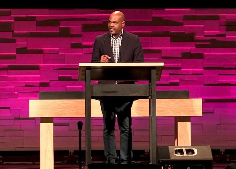 The Great Plains Conference provided a video of the UMCNext press conference, held after the event concluded. More than 600 U.S. United Methodists spent three days grappling with possible options for the future of the church. Video image courtesy of UMCNext.