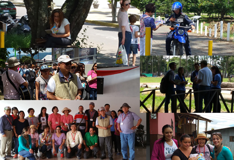한인연합감리교회선교협의회의 2017년 코스타리카 선교대회의 모습, 사진 이승필 목사, UMCom