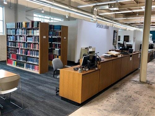 El Laboratorio Ministerial estará ubicado en el Seminario Teológico Unido de la Biblioteca Spencer de las Ciudades Gemelas. Foto cortesía de la Conferencia Anual de Minnesota.