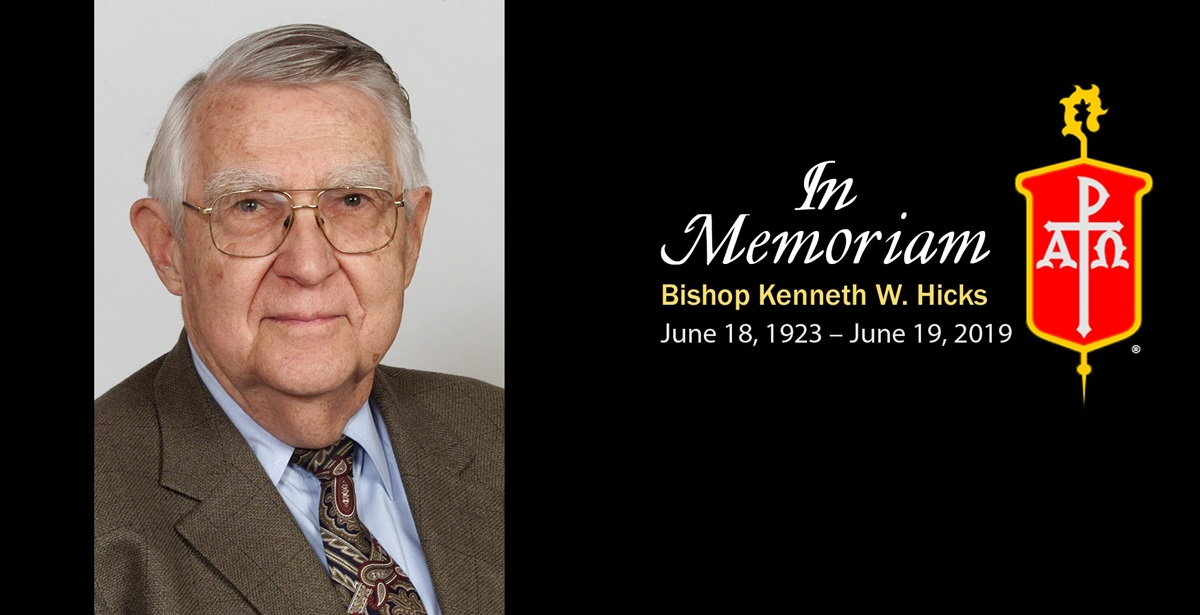Bishop Kenneth W. Hicks, who led conferences in Arkansas and Kansas, is remembered for his good humor and passion for peace. Photo courtesy of the Council of Bishops.