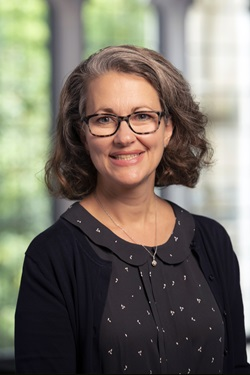 The Rev. Laceye C. Warner is Associate Dean for Wesleyan Engagement and the Royce and Jane Reynolds Associate Professor of the Practice of Evangelism and Methodist Studies at Duke University Divinity School, Durham, North Carolina.  Photo by Les Todd.