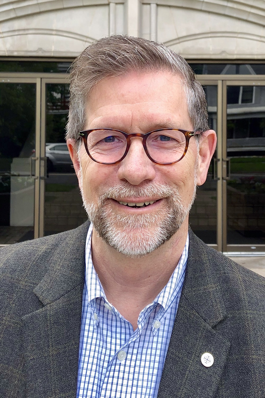 The Rev. Steven W. Manskar is pastor of Trinity United Methodist Church in Grand Rapids, Michigan. Photo courtesy of Trinity United Methodist Church.