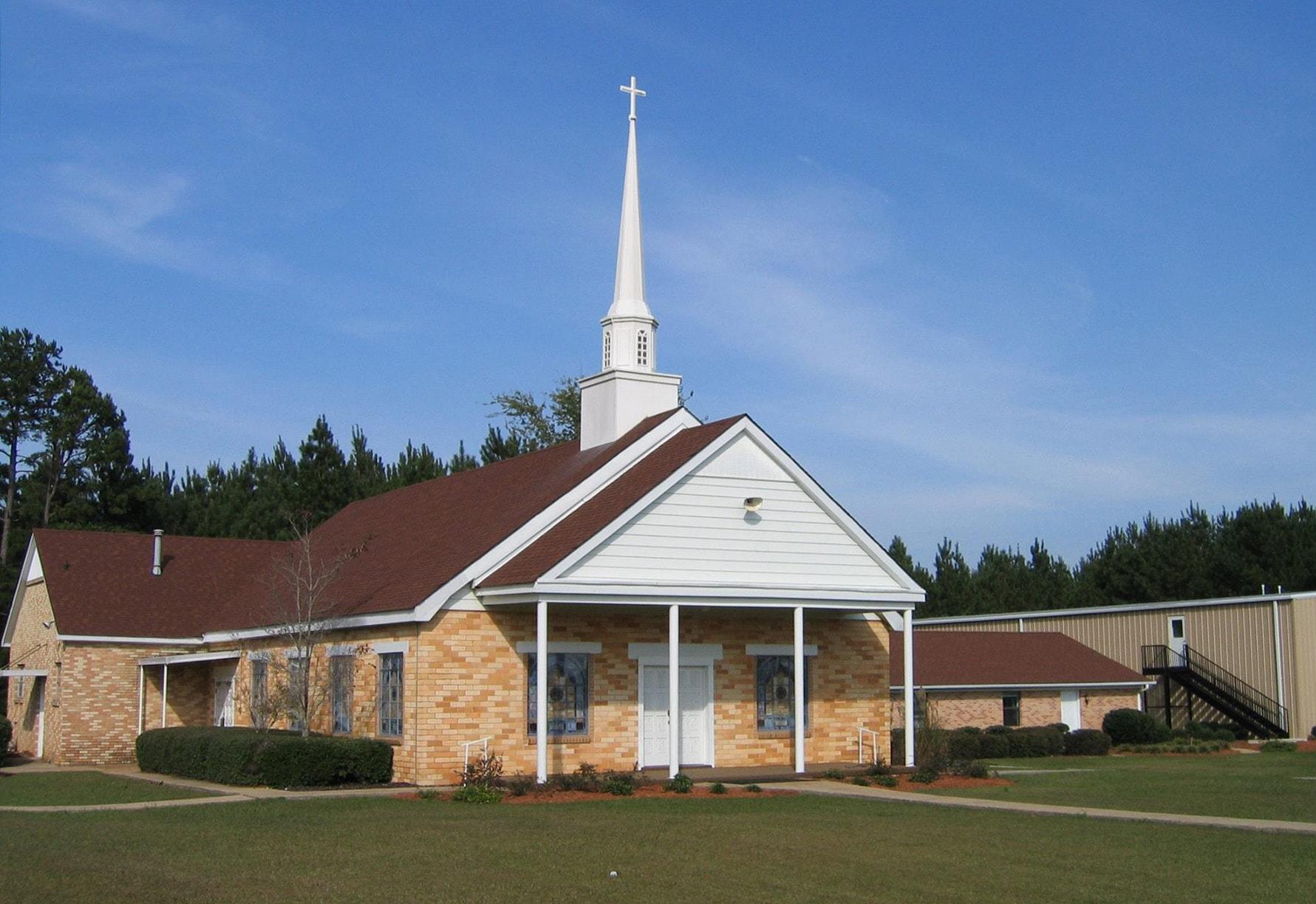 A Igreja Metodista Coy, em Preston, Mississippi, está entre as sete congregações do Mississippi que deixaram a denominação em 30 de junho. Cortesia da foto: Conferência Anual do Mississippi.