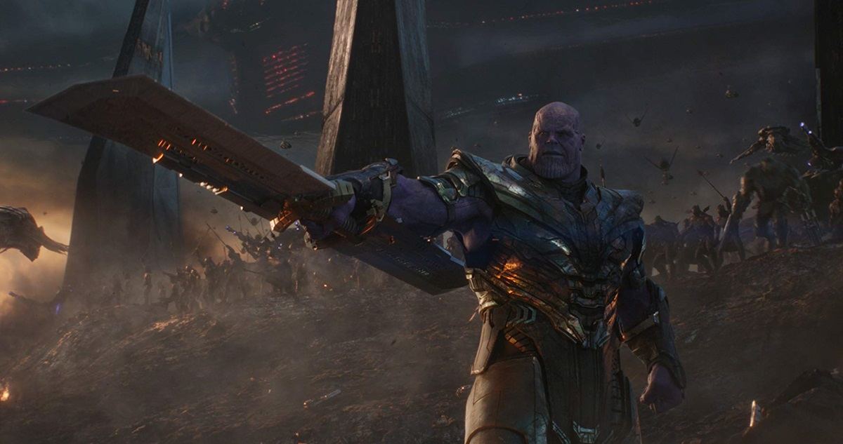 Thanos, a prominent villain in Marvel comic books who was featured in several theatrical movies, was created by Jim Starlin with help from his roommate Mike Friedrich, who wrote the first stories featuring the character. Photo courtesy of Disney Movies.