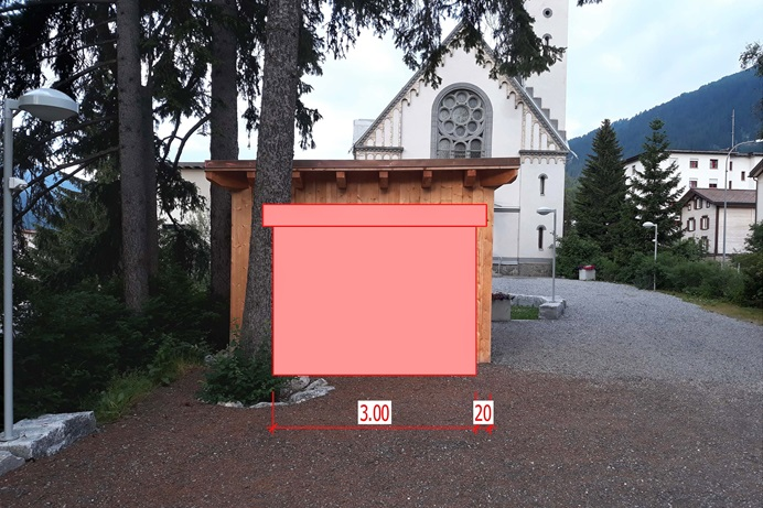 "The United Methodist Church in Davos, Switzerland, started offering free food in June 2019 in a joint effort with a local Pentecostal parish to help eliminate food waste. The ""Save Our Food"" program plans to expand its ministry by installing a refrigerator next to the United Methodist church building, as shown in the illustration. Photo by the Rev. Stefan Pfister."