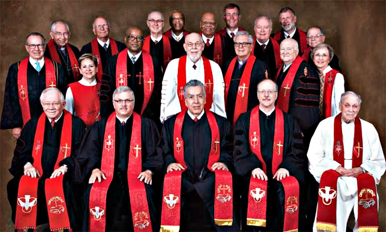 Bispos da Jurisdição Sul- Central da Igreja Metodista Unida. Foto cedida pelo Colégio de Bispos da Jurisdição Sul-Centro.