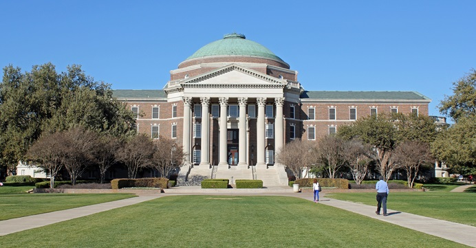 Southern Methodist University in Dallas recently changed it Articles of Incorporation and now faces a lawsuit filed by the South Central Jurisdictional Conference of The United Methodist Church. The dispute involves the degree of United Methodist control of the school and comes as the denomination faces an uncertain future. Photo courtesy of Wikimedia Commons, Creative Commons.