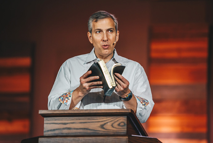 The Rev. Jim Leggett is pastor of Grace Fellowship United Methodist Church in Katy, Texas. The church's congregation recently voted, by a 96% margin, in favor of leaving The United Methodist Church. Photo courtesy Grace Fellowship United Methodist Church.