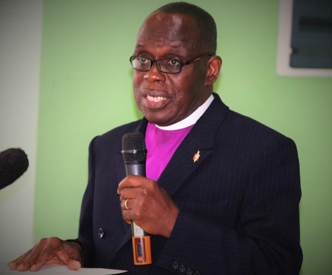 Evêque Benjamin Boni, de la Conférence Annuelle de Côte d'Ivoire. Photo de Isaac Broune, UMNS.