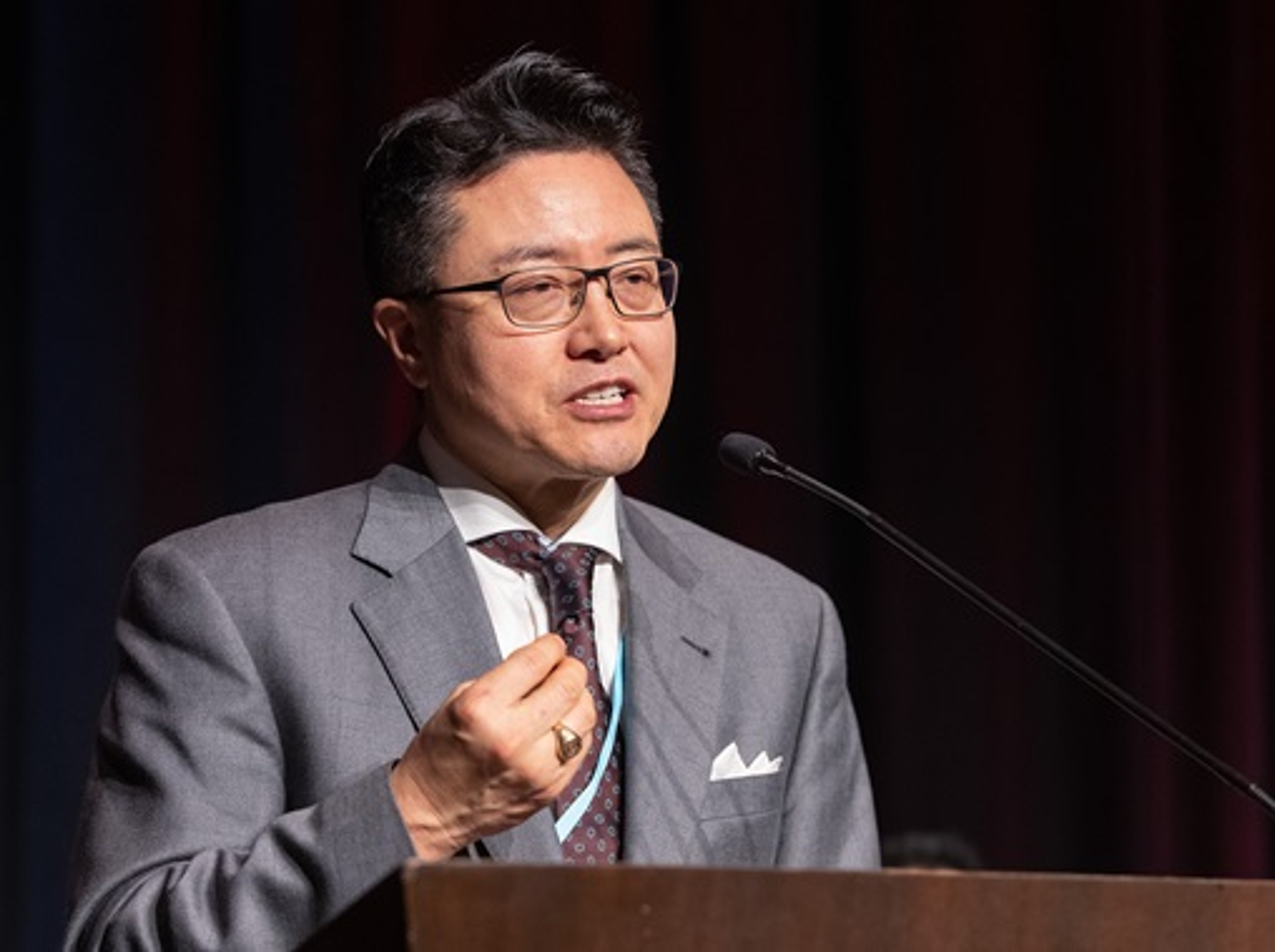 Rev. Paul Chang, Director Ejecutivo del Plan para el Ministerio Coreano. Foto Mike Dubose, Noticias MU.