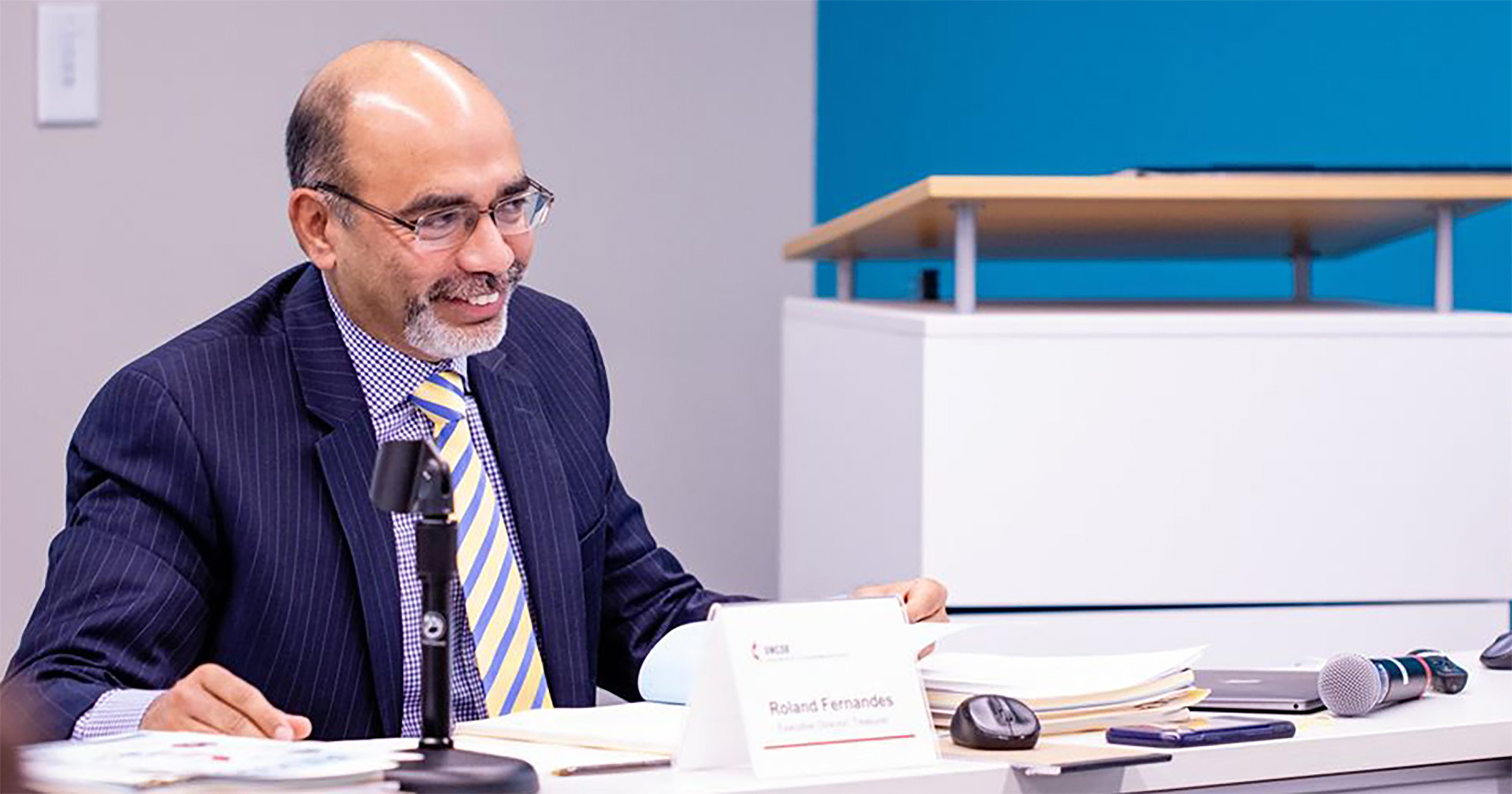 Roland Fernandes sucederá Thomas Kemper, que serviu por uma década e decidiu não ir à reeleição. Foto cedida por GBGM.